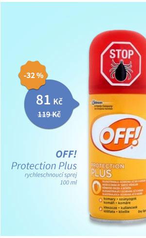 Off! Protection Plus rychleschnoucí